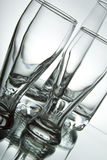 Beautiful glasses. On a white background Royalty Free Stock Image