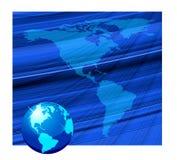 Beautiful globe background Stock Photos