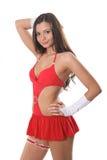 Beautiful go-go girl Stock Image