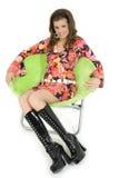 Beautiful Go Go Girl royalty free stock image