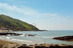 Beautiful Goa province beach Royalty Free Stock Image