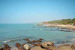 Beautiful Goa province beach Stock Photography