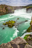 Beautiful Godafoss waterfall, Iceland Stock Photography