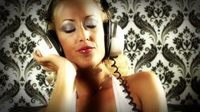 Beautiful gogo dancing stock video footage