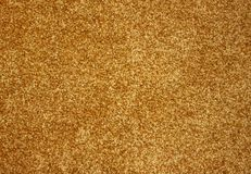 Beautiful gold carpet. Stock Image