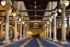 mosque azhar in cairo stock photography