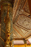 Beautiful gold and inlaid ceiling Stock Photos