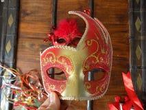 A beautiful mask stock image