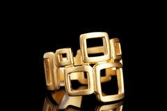 Beautiful gold ring Royalty Free Stock Image