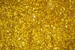 Bokeh gold defocused, abstract background vector illustration