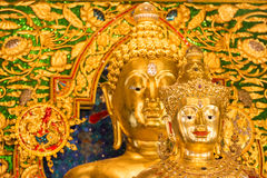 Beautiful golden Buddha image Royalty Free Stock Photo