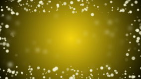 Beautiful golden christmas  background stock video footage