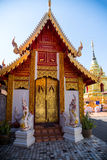 Beautiful golden church, thailand Royalty Free Stock Image