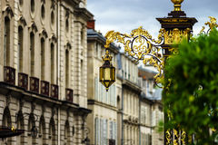 Free Beautiful Golden Covered Street Lamp In Nancy Royalty Free Stock Photo - 75355465