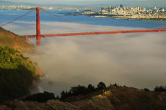 Beautiful golden gate bridge in san francisco Stock Images