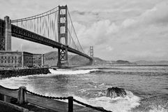 Beautiful golden gate bridge in san francsico Stock Photo