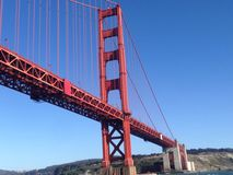 Beautiful Golden Gate Bridge Royalty Free Stock Image