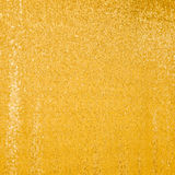 Beautiful golden glitter background. With selective focus. Texture. Holiday background with golden sequins, copyspace, hanging curtain. Sparkling sequined Stock Images