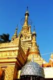 Beautiful golden pagoda Royalty Free Stock Image
