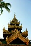 Beautiful golden pagoda Royalty Free Stock Photos
