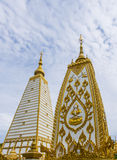 The beautiful golden pagoda Royalty Free Stock Photos