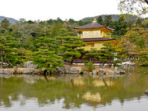 Beautiful golden pavilion Stock Photography