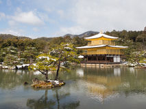 Beautiful Golden Pavilion Kinkaku-ji Royalty Free Stock Photo