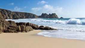 Porthcurno Cornwall Royalty Free Stock Image