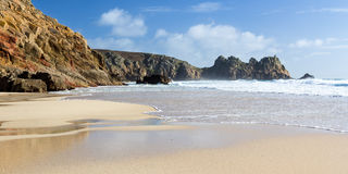 Porthcurno Cornwall Royalty Free Stock Photo