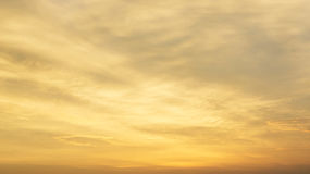Beautiful golden sky Royalty Free Stock Images