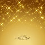 Beautiful golden sparkles festival background. Illustration vector illustration