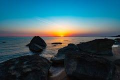 Beautiful golden sunrise Royalty Free Stock Images