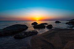 Beautiful golden sunrise Royalty Free Stock Image