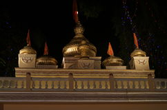 Beautiful golden tempel top Royalty Free Stock Images