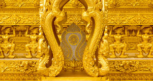 Beautiful golden temple Royalty Free Stock Photography