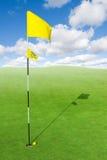 Beautiful golf course Stock Image
