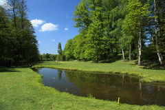 Beautiful golf course Stock Photography