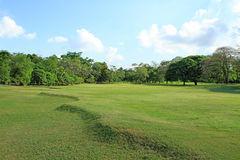 Beautiful golf course in Bangkok Royalty Free Stock Image