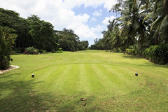 Beautiful golf course at the Constance Lemuria Stock Photography