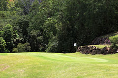 Beautiful golf course at the Constance Lemuria Royalty Free Stock Image