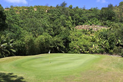 Beautiful golf course at the Constance Lemuria Stock Photo