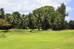 Beautiful golf course at the Constance Lemuria Royalty Free Stock Photo