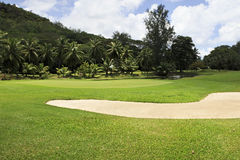 Beautiful golf course at the Constance Lemuria Stock Photos