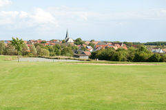 A Beautiful Golf Course in Europe Stock Photography