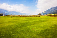 Beautiful golf course Stock Photos