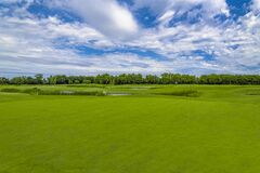 Free Beautiful Golf Course In Green Park At Mezhgorye Residence, Ukraine Stock Photo - 177744120