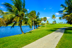 Beautiful golf course Royalty Free Stock Photography