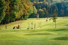 Beautiful golf Stock Image