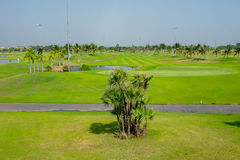 Beautiful golf course in thailand Stock Photography