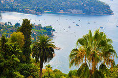 Perfect view on french Riviera Stock Photography